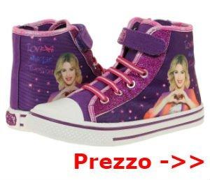 scarpe violetta alte viola