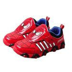 scarpe di spiderman luminose
