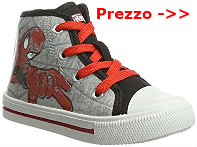 scarpe spiderman alte